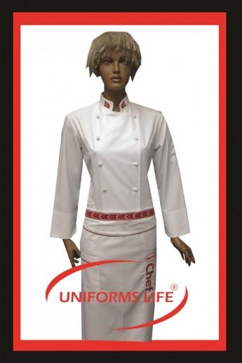 Bayraklı Bayan Chef Takım