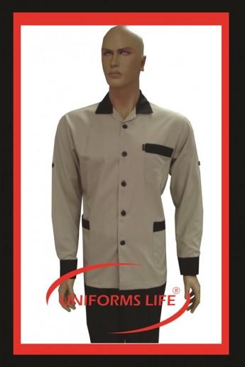 Bej-Kahverengi Erkek Housekeeping Takım
