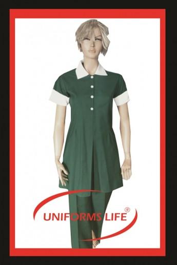 Tunikli Bayan Housekeeping Takım