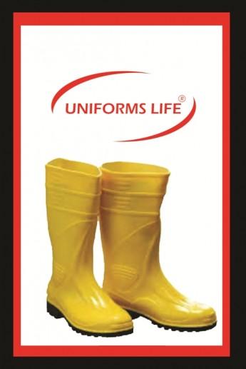 Sarı Lastik Çizme
